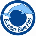 Bicester Blue Fins Swimming Club logo